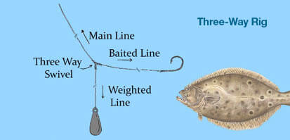 Common rigs and knots massachusetts saltwater fishing for Mass fishing regulations