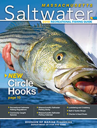 Massachusetts Saltwater Fishing Regulations Cover