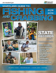 Maryland Fishing & Crabbing Regulations Cover