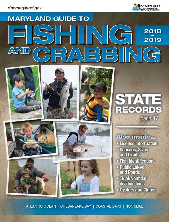 Maryland fishing regulations 2018 eregulations for Maryland fishing license