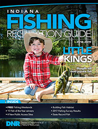 Indiana fishing regulations 2018 eregulations for Indiana fishing license cost