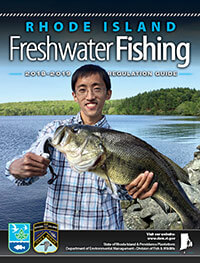 Rhode Island Freshwater Fishing Regulations Cover