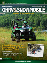 New Hampshire ATV Regulations cover