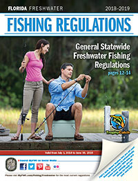 Florida Freshwater Fishing Regulations Cover