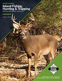 North Carolina Hunting & Fishing Cover
