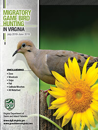 Virginia Migratory Game Bird Hunting Regulations cover