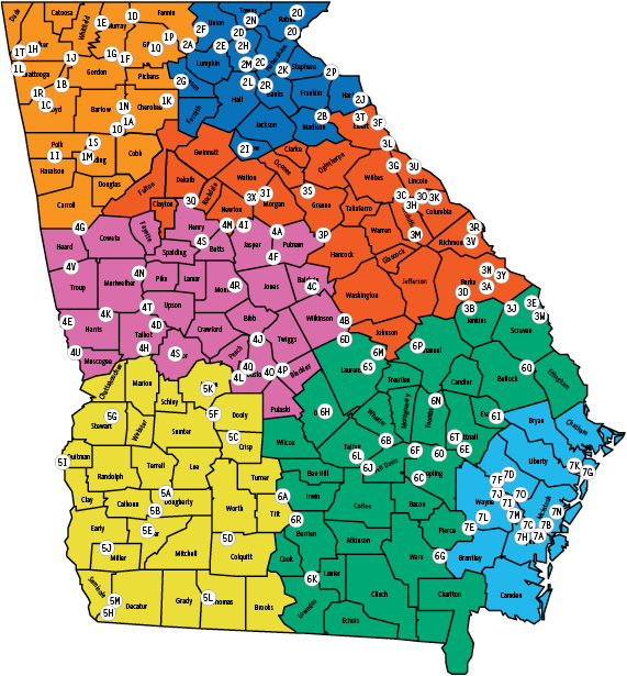 Alligators In Oklahoma Map.Locator Map Georgia Hunting Seasons Regulations 2018