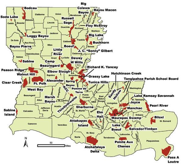 louisiana public hunting land map Missouri Public Hunting Land Map Maping Resources louisiana public hunting land map