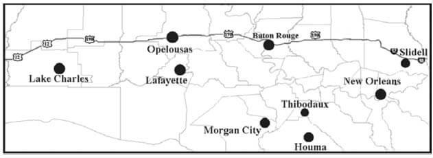 North Louisiana Map.Dove Hunting Louisiana Hunting Seasons Regulations 2018