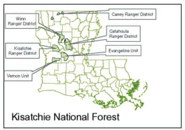 Federal Land Hunting Schedules | Louisiana Hunting Seasons ...