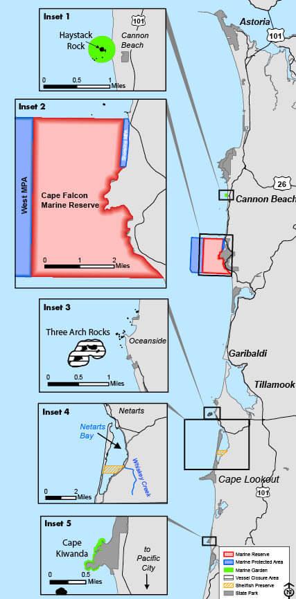 Management Designations for Marine Areas | Oregon ... on