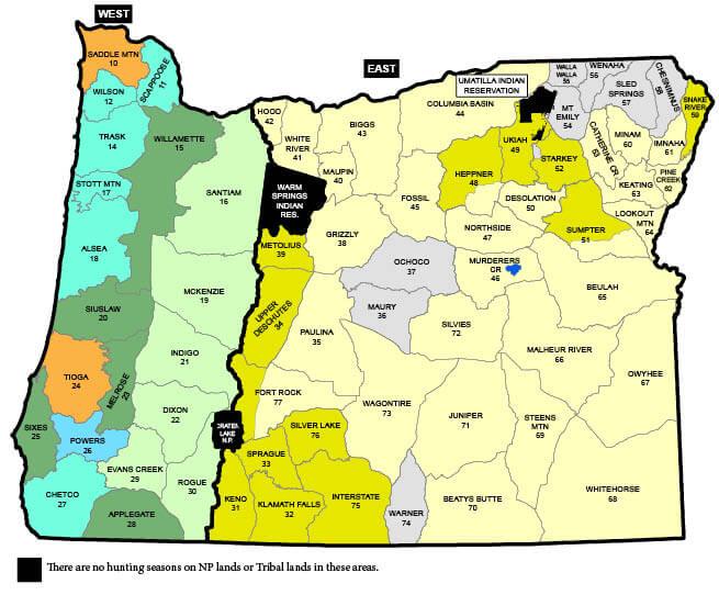Elk Seasons | Oregon Hunting Seasons & Regulations – 2019