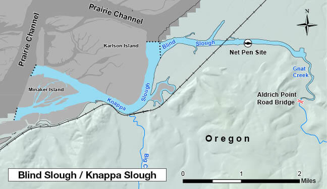 Columbia River Zone Regulations & Map | Oregon Fishing