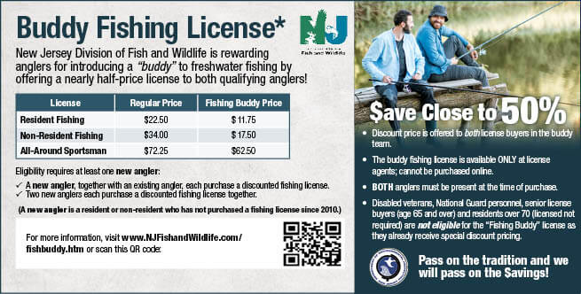 License Information | New Jersey Freshwater Fishing Seasons