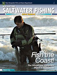 New Hampshire Saltwater Fishing Regulations Cover