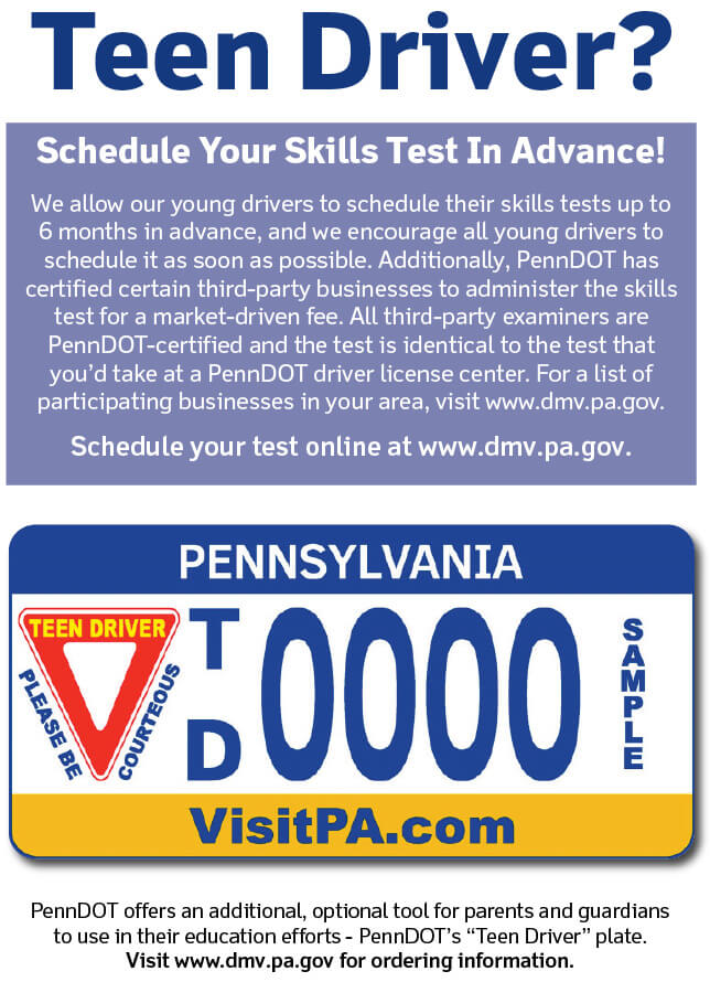 over 18 drivers license pa