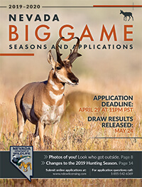 Nevada Big Game Hunting Seasons & Applications – 2019