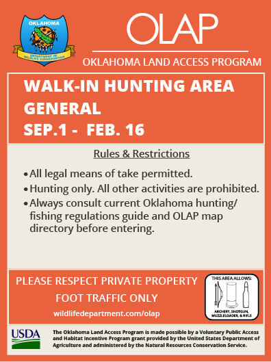 OLAP Regulations | Oklahoma Hunting Seasons & Regulations – 2019 on kansas hunting unit map, kansas walk-in fishing map, kansas hunting regions map,