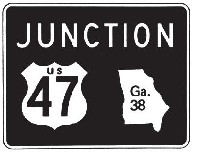 Road Signs | Georgia Drivers Manual – 2019 | eRegulations
