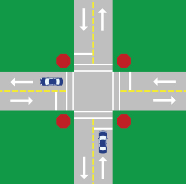 Pavement Markings | Georgia Drivers Manual – 2019 | eRegulations