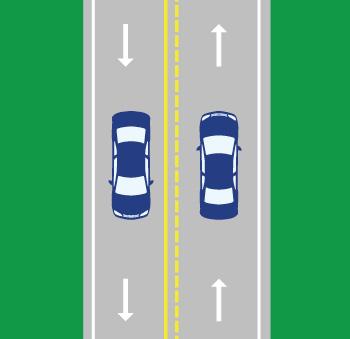Pavement Markings | Georgia Drivers Manual – 2019 | eRegulations