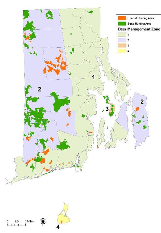 Zone Map | Rhode Island Hunting Seasons & Regulations – 2019 ... Machusetts Hunting Zones Map on