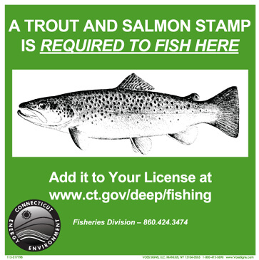 Trout Salmon Stamp Connecticut Fishing Regulations 2020 Eregulations