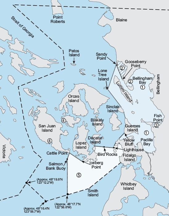 Marine Area 7 Washington Fishing Regulations 2020 Eregulations