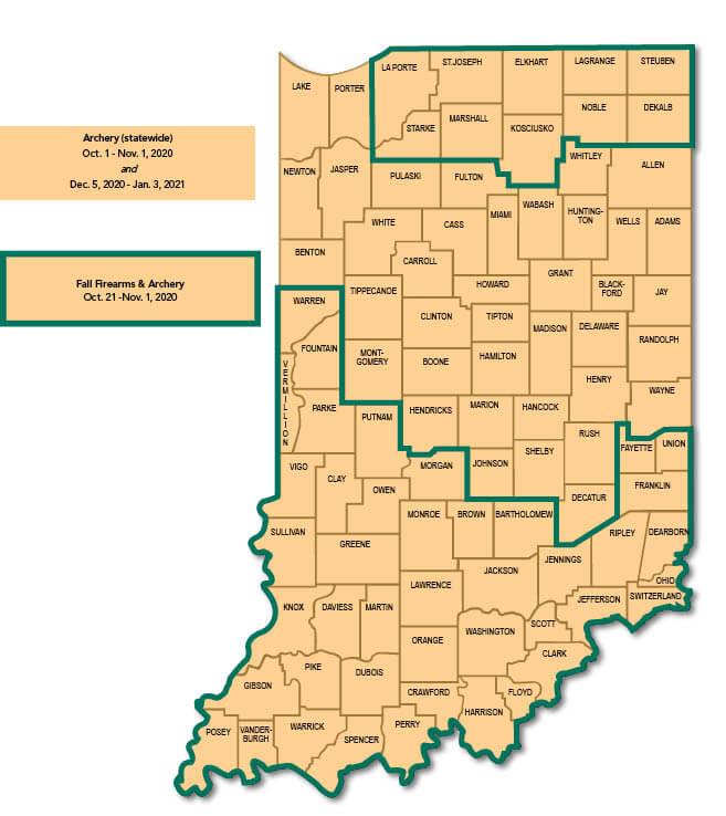Wild Turkey Indiana Hunting Seasons Regulations 2020 Eregulations