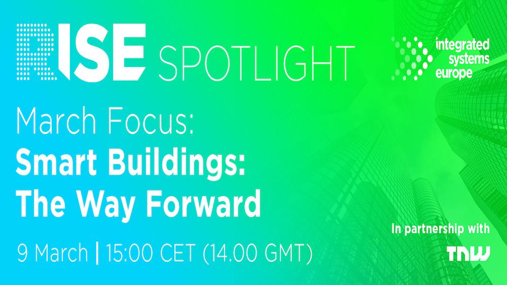 RISE Spotlight: Smart buildings - The way forward