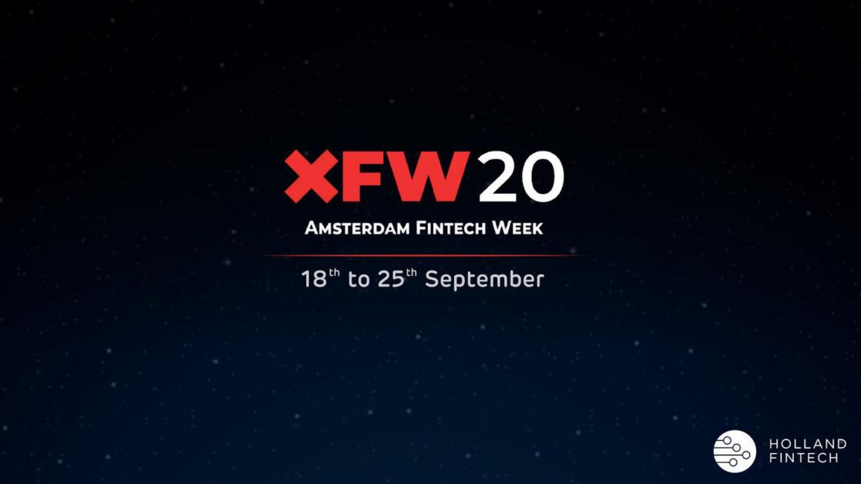 XFW20: Amsterdam Fintech Week