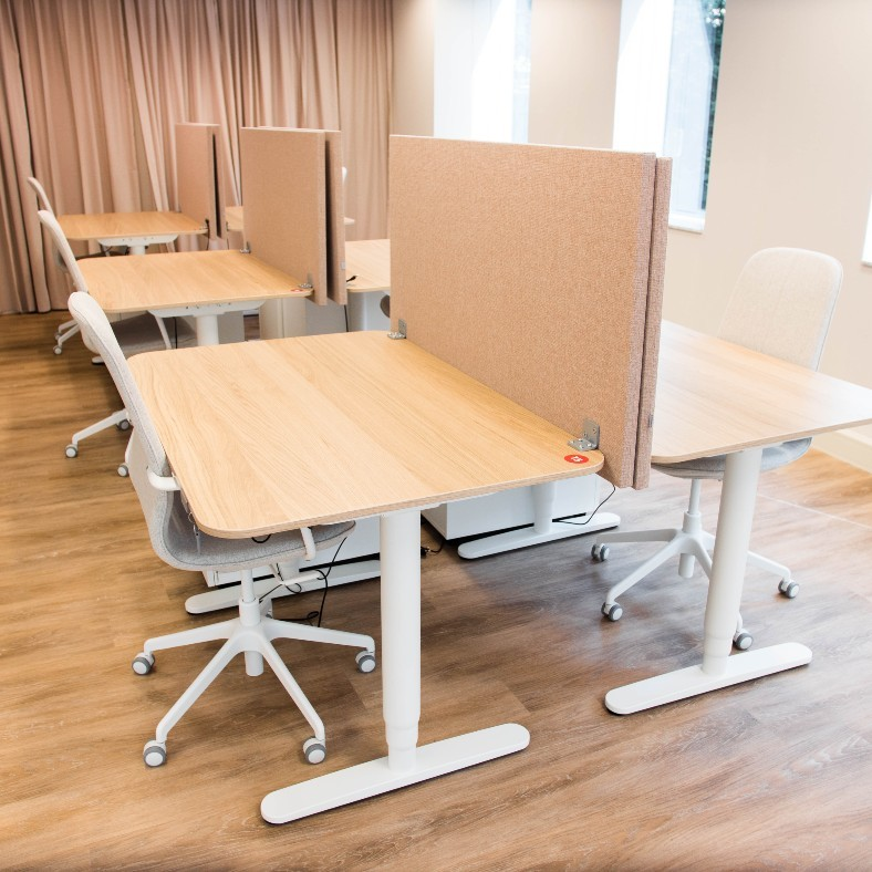 TNW Spaces Amsterdam dedicated desk shared coworking