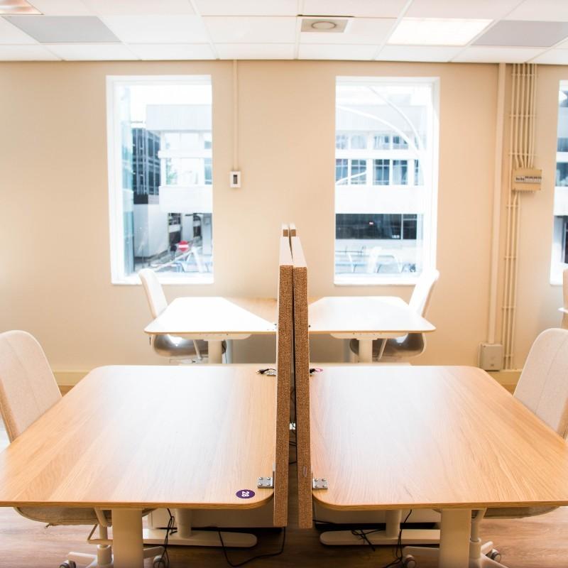 TNW Spaces Amsterdam dedicated desk shared desk