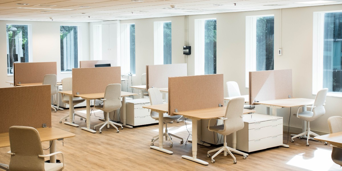 TNW Spaces dedicated desk shared coworking space