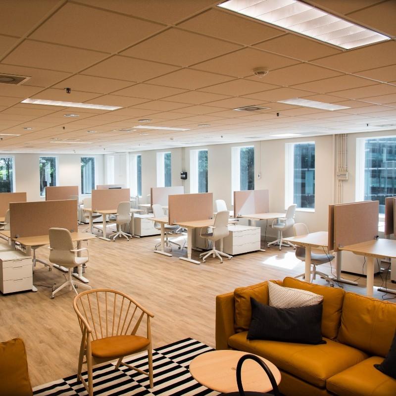 TNW West Amsterdam private office interior