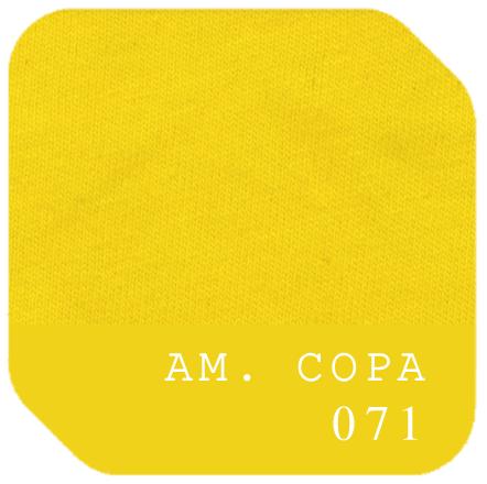 Algodão Penteado - Amarelo Copa - 071