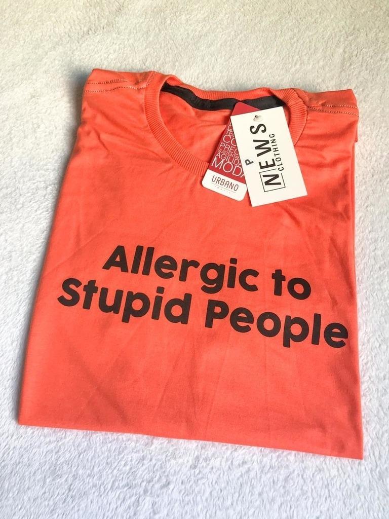 Allergic to stupid people