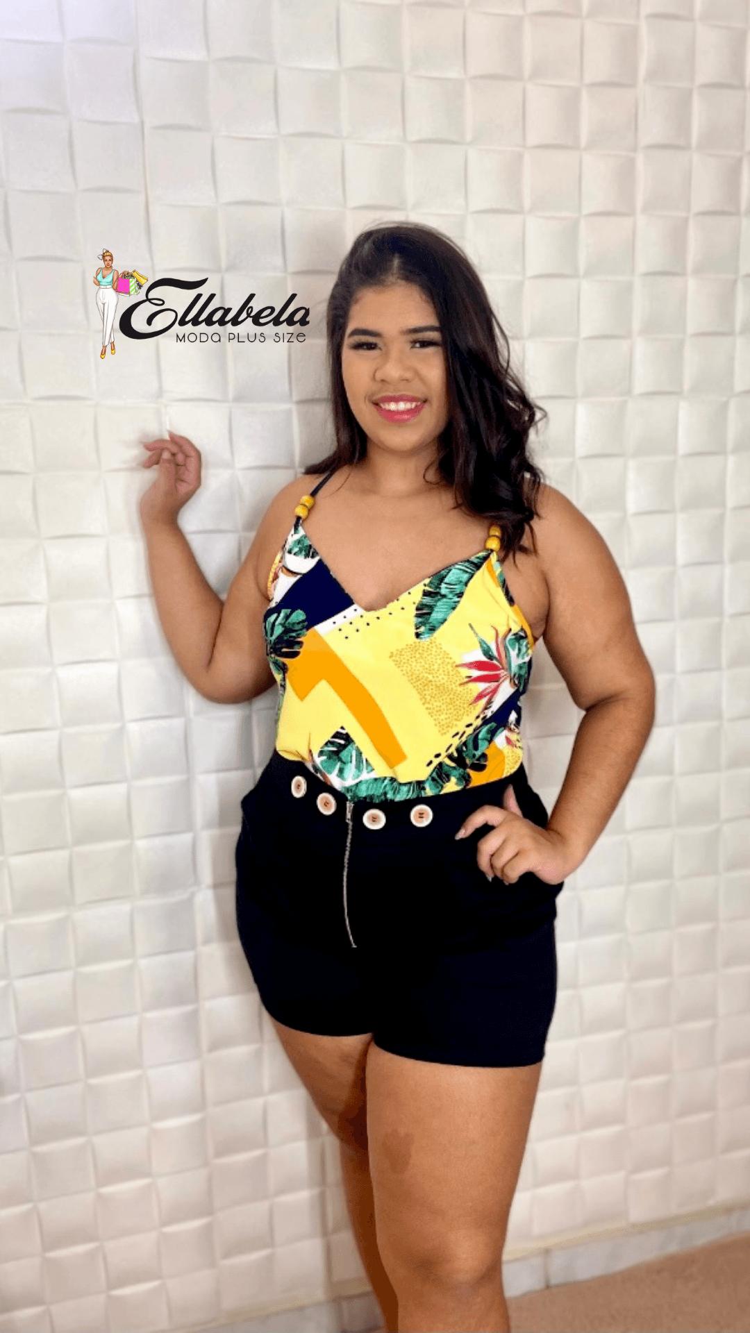 Blusa 100,Ellabela modas