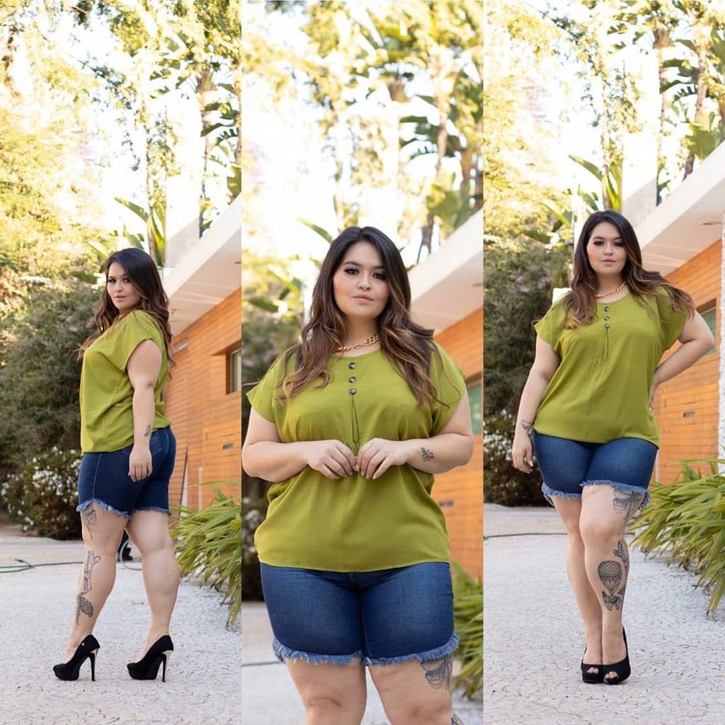 Blusa 108 Plus Size, Ellabela modas