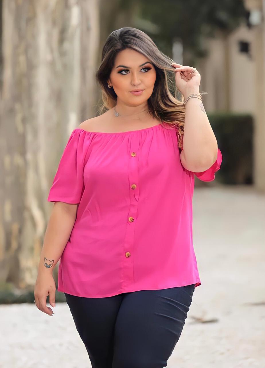 Blusa Plus Size Gab Modas