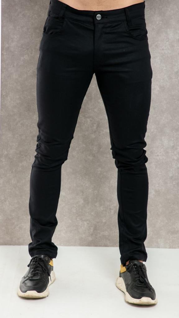 Calça black acetinada com lycra  RCR original clothing