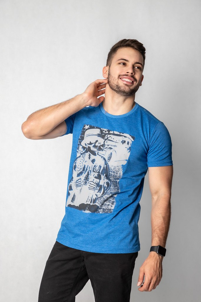 Camisa Estampa Caveira