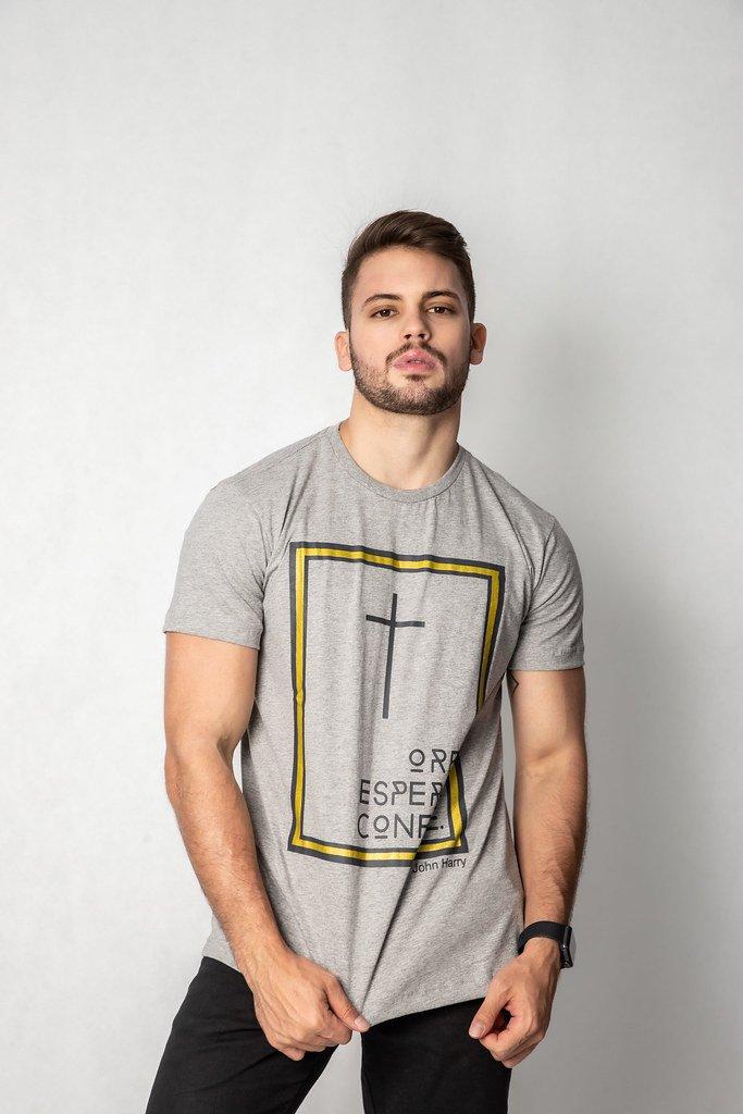 Camisa Estampa Cruz