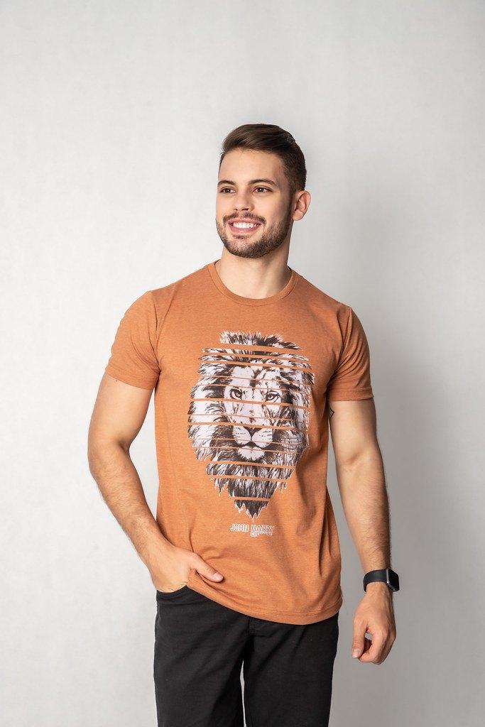 Camisa Estampa Leão