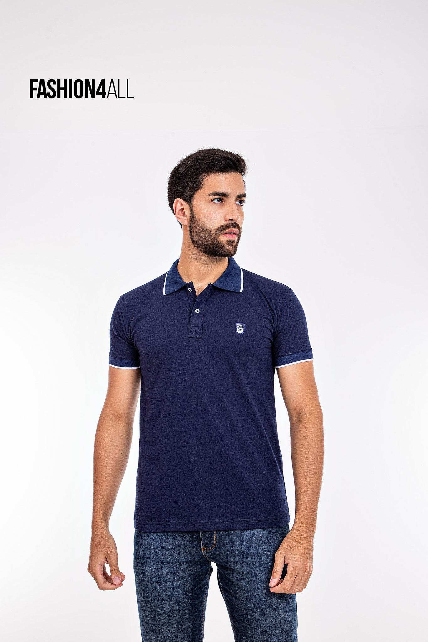 Camisa gola Polo masculina TIGRE MALHADO