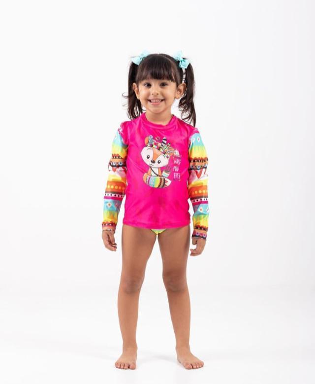 Camisa UV Personalizadas Ondas Kids