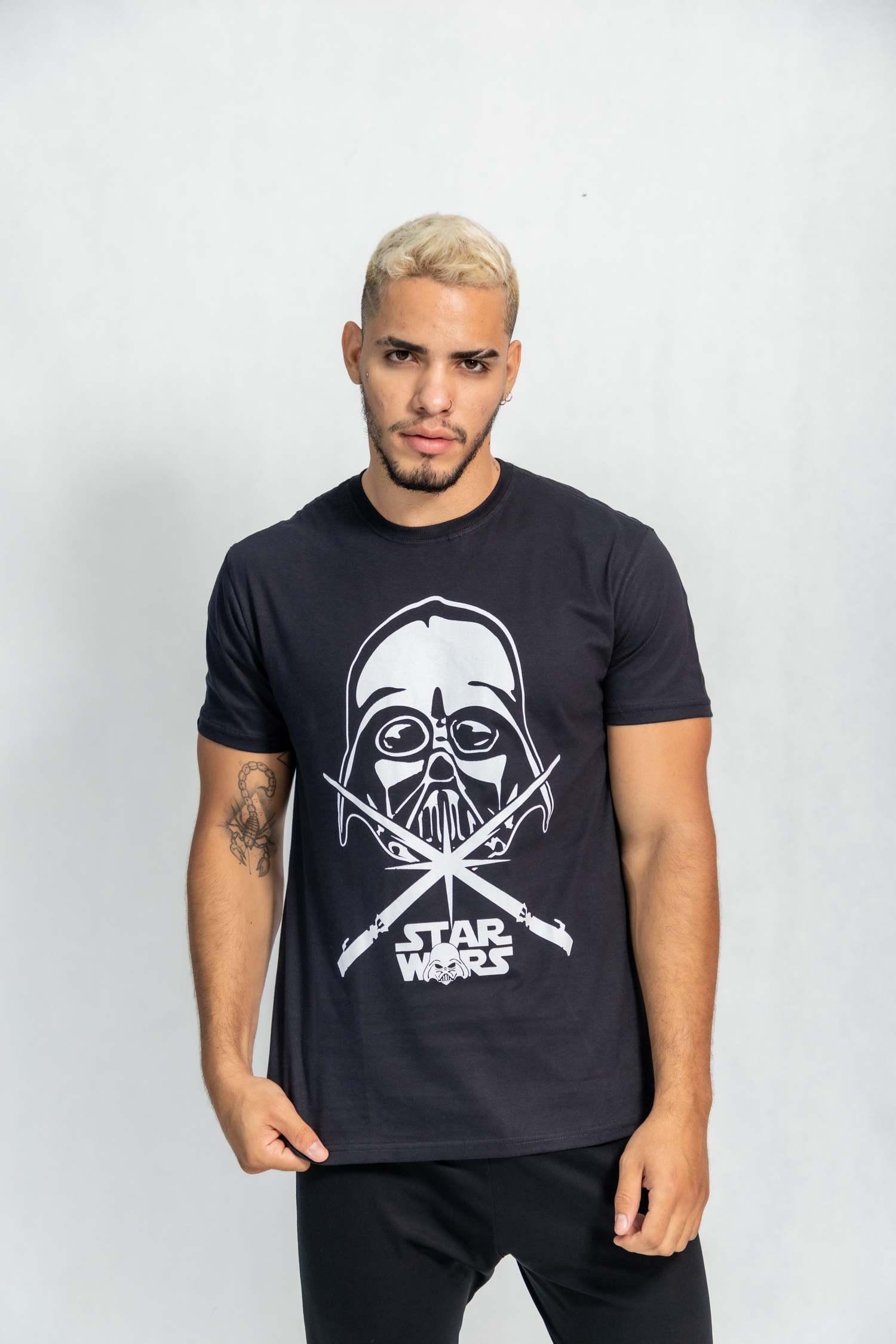 Camiseta masculina estampa Darth Star Wars