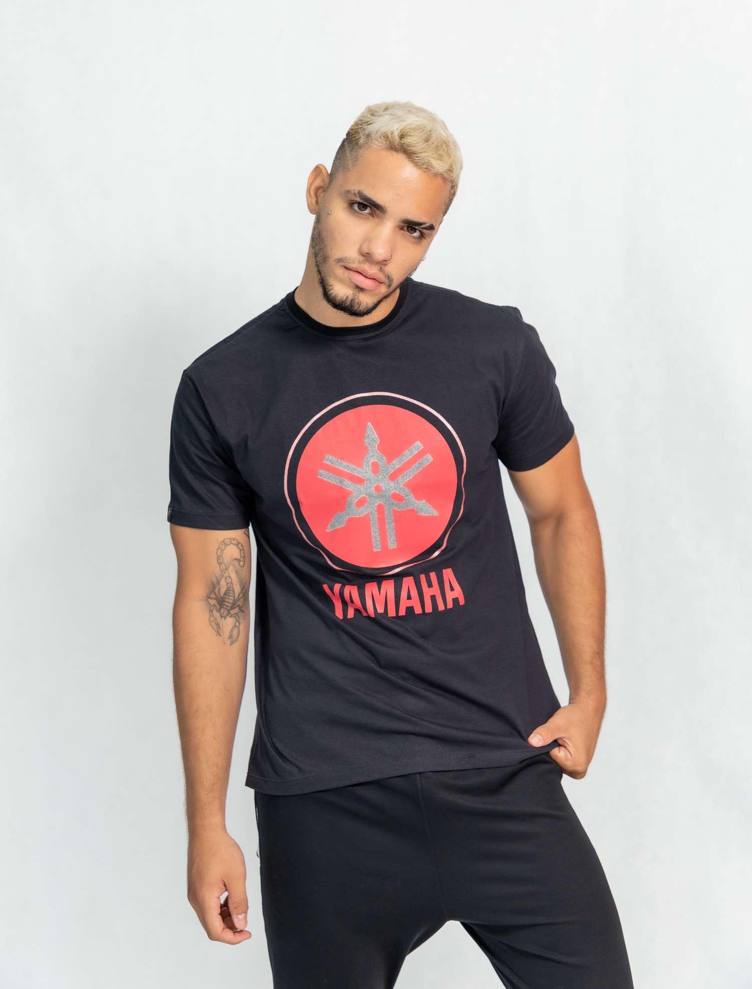 Camiseta masculina estampa Yamaha