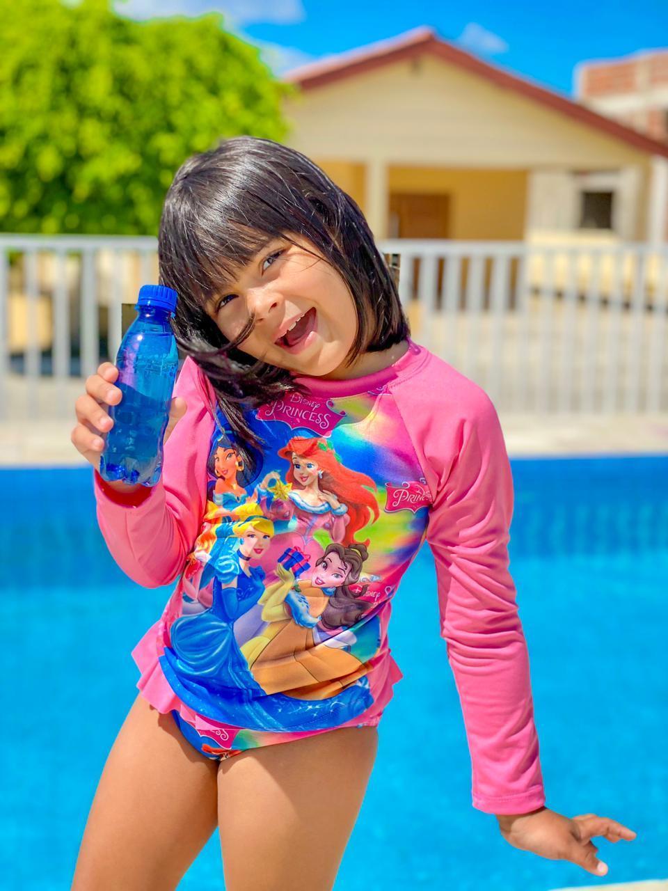 Conjunto Infantil Proteção UV Fator 50+