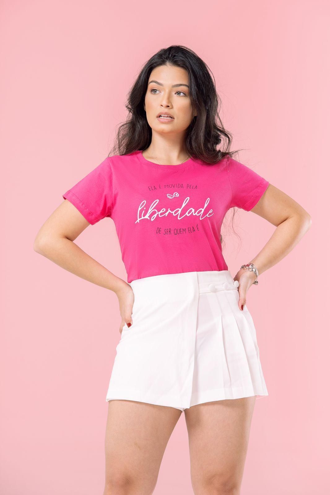 Diniz T-shirts feminina - Liberdade